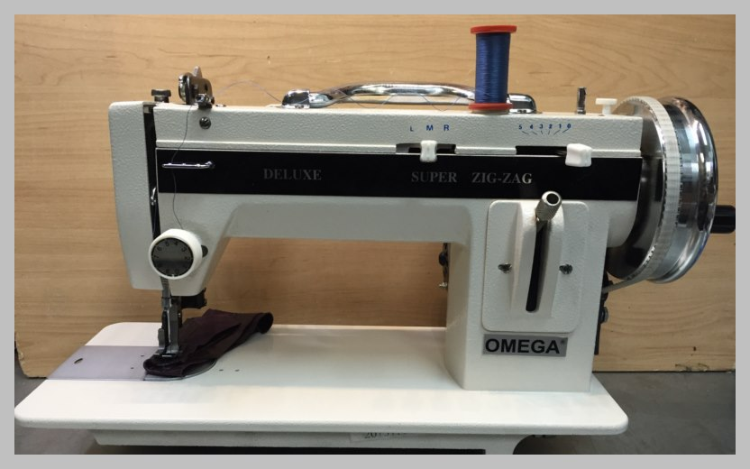 WALKING FOOT INDUSTRIAL STRENGTH SEWING MACHINE HEAVY DUTY Cool Omega Stitch Art Sewing Machine